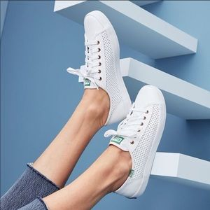 Keds Kickstart Leather Perforated Sneakers w/Box!